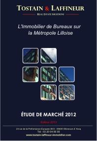 Etude de marché - édition 2013 - Immobilier de Bureaux Métropole Lilloise