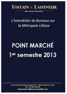 Bureaux Lille : Bilan du 1er semetre 2013