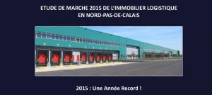 Entrepôt Lille : Notre étude de marché 2015 de l'immobilier logistique est disponible !