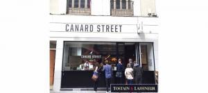Commerce : Des halles au restaurant, ouverture de Canard Street