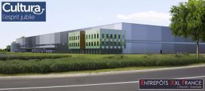 Logistique France : Entrepôts Xxl France, filiale de Tostain et Laffineur, installe Cultura à Paris Moissy-Cramayel
