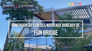 Immersion au sein des nouveaux bureaux de Fun Bridge - Villeneuve d'Ascq