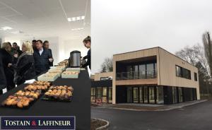 Immobilier Bureaux Lille : Inauguration du Campus de Bureaux Wood Park à Marcq en Baroeul