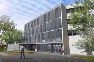 Bureaux Lille : Le 33 Avenue de Flandre à MARCQ EN BAROEUL fait peau neuve !