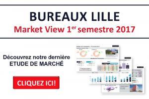 Bureaux Lille - Market View du 1er semestre