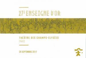 27 ème édition des Enseignes d'Or