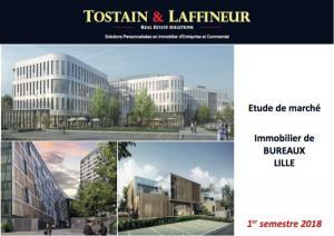 Bureaux Lille - Etude de marché 1er semestre 2018 - L'attractivité confirmée
