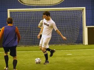 Immobilier : L'équipe Tostain et Laffineur a participé à un tournoi de foot en salle
