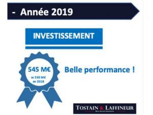 Bureaux Lille - De belles performancespour l'année 2019 !