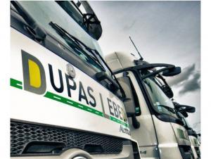 Les Transports Dupas Lebeda arrivent à Vendin-le-vieil