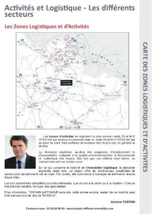 Entrepot Lille : plateformes logistiques disponibles dans le Nord Pas de Calais