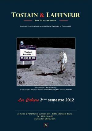 Les Cahiers TOSTAIN & LAFFINEUR 2ème semestre 2012
