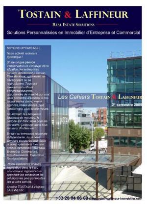 LES CAHIERS TOSTAIN & LAFFINEUR 2 nd Trimestre 2009
