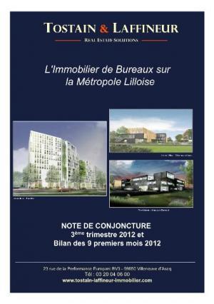 Note de conjoncture BUREAUX -  3ème trimestre 2012