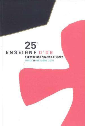 Commerce : la 25e Enseigne d'Or a eu lieu à Paris le lundi 19 octobre