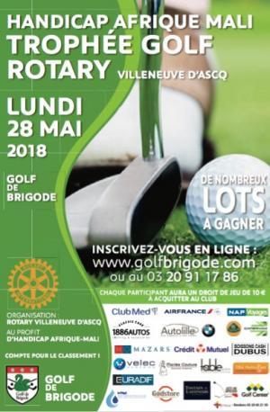 Tostain & Laffineur soutient le Trophée de Golf Rotary - Golf de Brigode Villeneuve d'Ascq