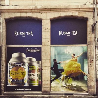 Commerce Lille - L'enseigne de Thé Kusmi Tea arrive à Lille