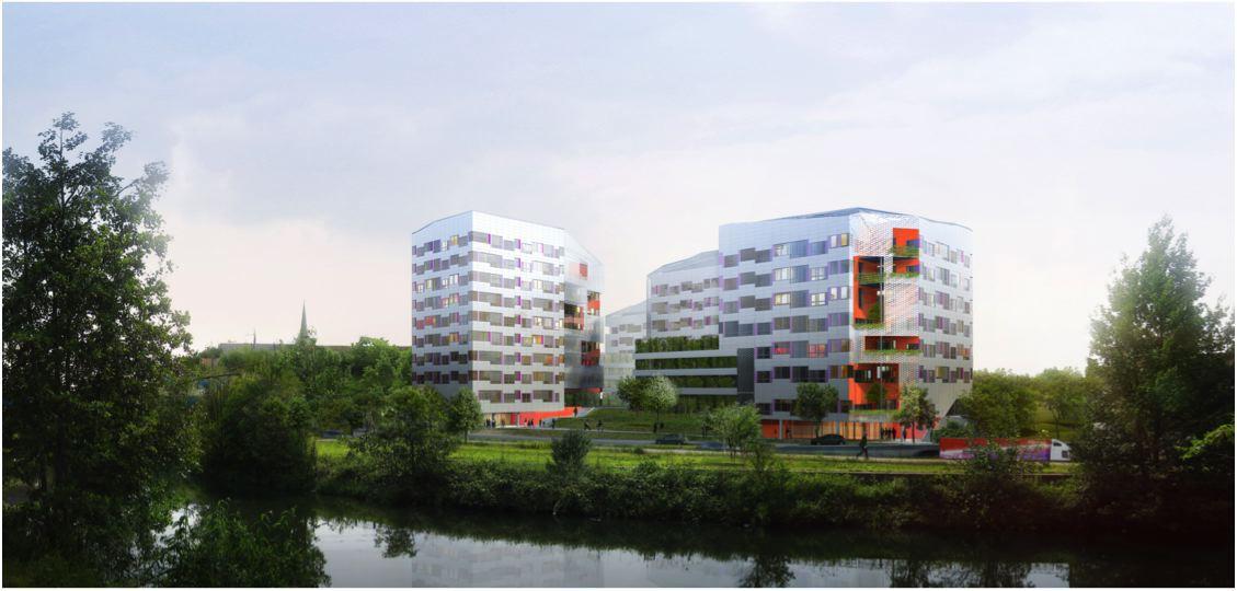 Location vente bureaux quais ouest lille tourcoing for Site vente immobilier