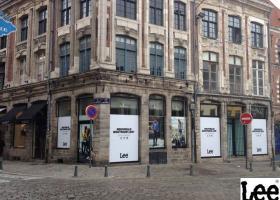 Commerce Lille : L'enseigne de prêt-à-porter Lee prend à bail un local sur la pl Louise de Bettignies