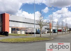 Entrepôts Lille : Dispeo prend à bail 30 000 m2 d'entrepôt à Lille Houplines