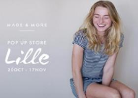Pop up store Lille : Made & More arrive de Belgique