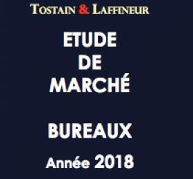 Etude de marché Bureaux Lille - Année 2018 - Tostain Laffineur - Edition 2019