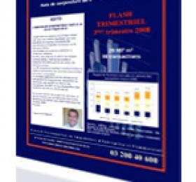 NOTE DE CONJONCTURE BUREAUX DU 3ème TRIMESTRE 2008 : L'IMMOBILIER D'ENTREPRISE FACE A LA CRISE FINANCIERE
