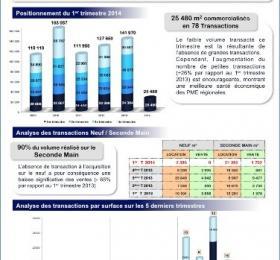 Etude de marché 1er trimestre 2014