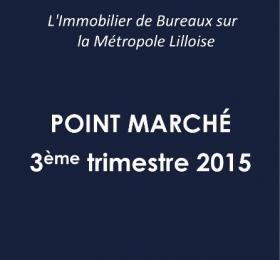 Etude de marche Bureaux 3eme trimestre 2015