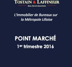 Etude de marché Bureaux Lille 1er trimestre 2016