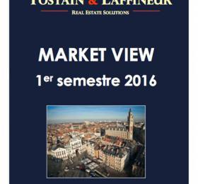 Etude de marché Bureaux Lille - 1er semestre 2016