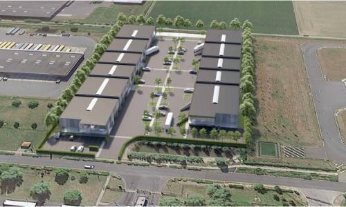 Cellules d'activités  à louer - 8 693 m² divisible à partir de 631 m² -  CARVIN