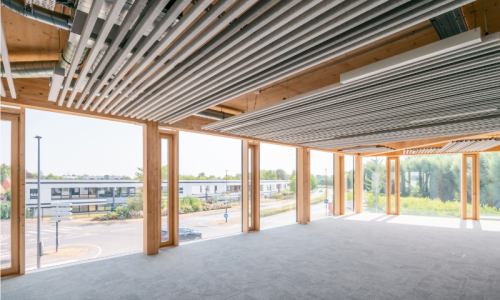 Location Bureaux Lille Villeneuve d'Ascq GreenCorner, immeuble neuf