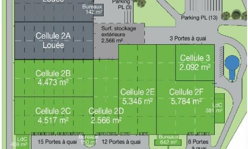 Location entrepot Soissons