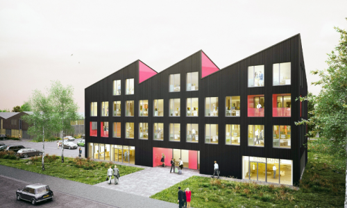 Location vente immeuble Bureux neufs au CRT de Lille Lesquin