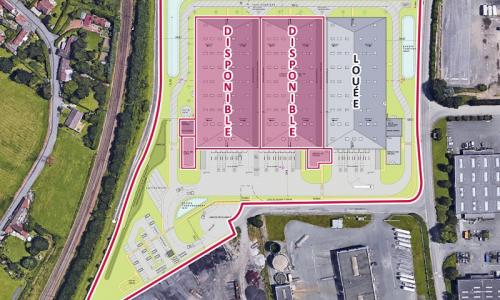 Location entrepôt Lille (Port de Santes)