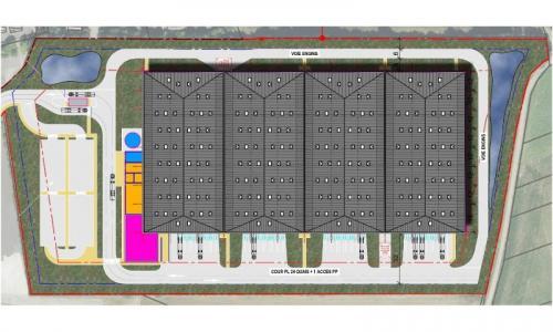 Location entrepôt Courcelles les Lens