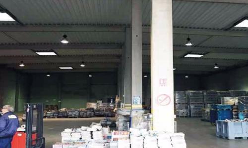 Vente entrepôt Lille Valenciennes