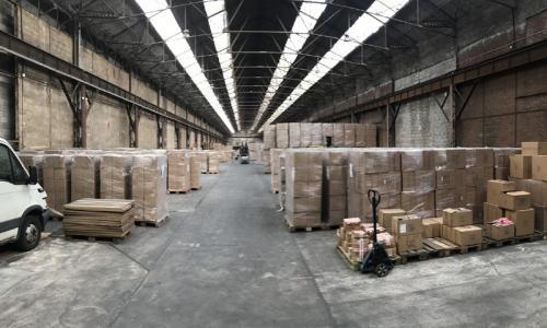 Vente entrepôts Valenciennes