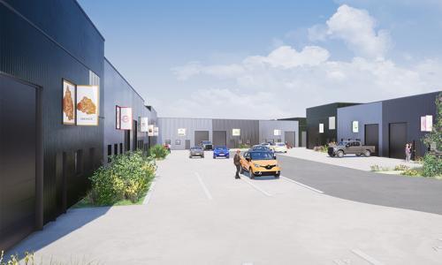 A vendre entrepôts Façade A2 Valenciennes (Onnaing)