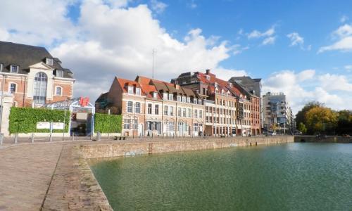 Vos bureaux face au bassin du Quai du Wault Lille