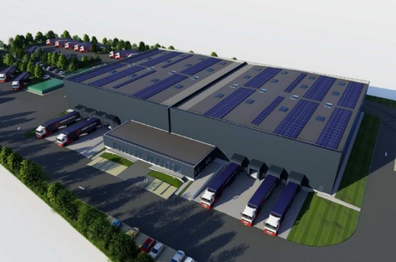 Entrepôt à  louer - 6 360  m² divisible à 3 180 m² - BREBIERES - Secteur DOUAI