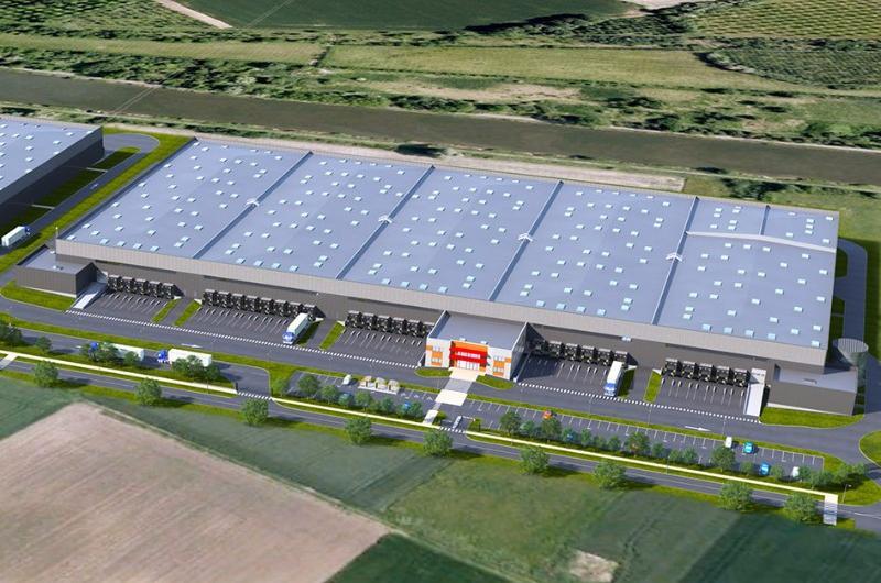 Entrepôt Lille - AEW signe un bail commercial avec ID Logistics à Lille Dourges