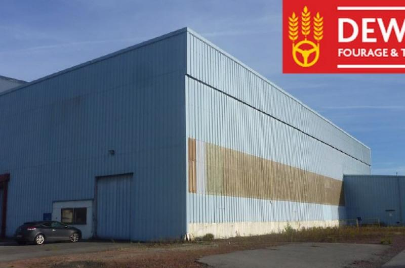 Entrepôt Lille : Dewulf Fourrage et Transport acquiert un entrepôt à Lille Illies