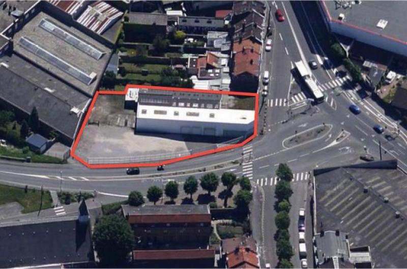 vente entrepot commerce Lille