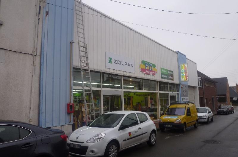 A vendre entrepot avec local commercial Lille