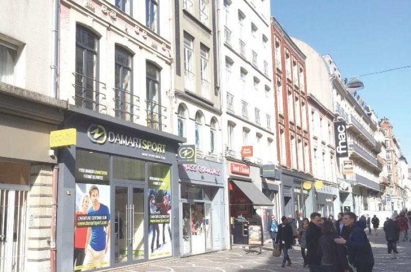 Location commerce rues piétonnes