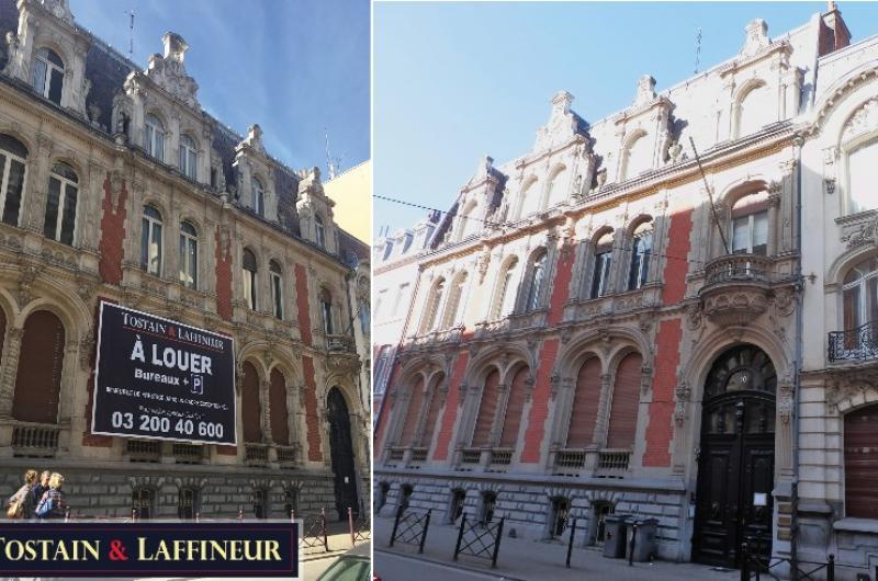 Bureaux Lille - Vente de l'ex Consulat de Belgique