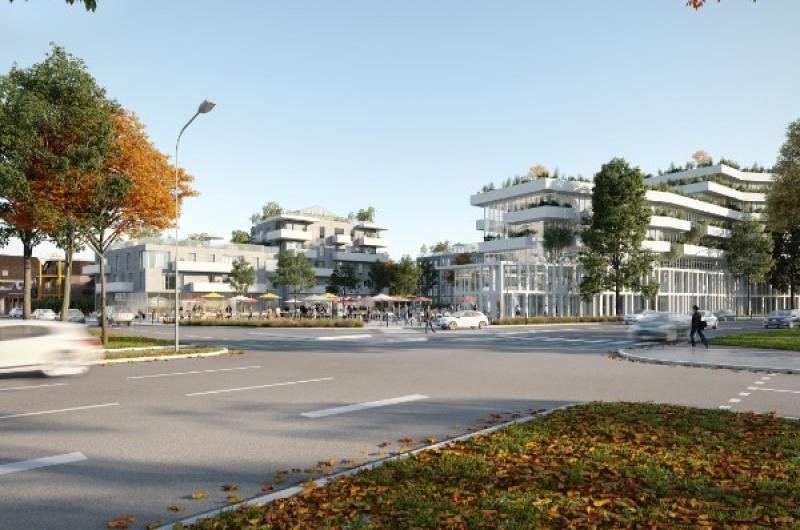 Location Bureaux neufs à Lille Euralille Le Sensorium