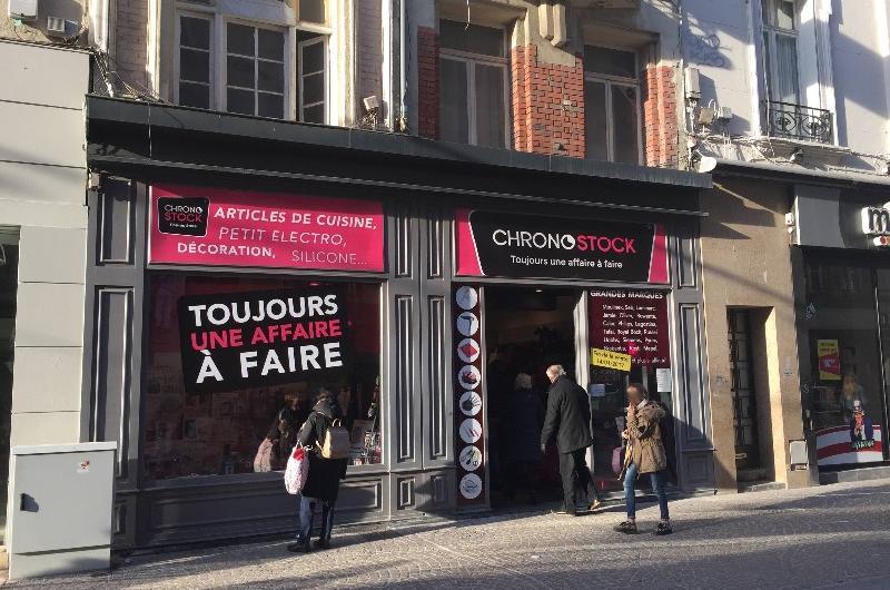 Magasin éphémère rue de Béthune : Chronostock passera les fêtes à Lille